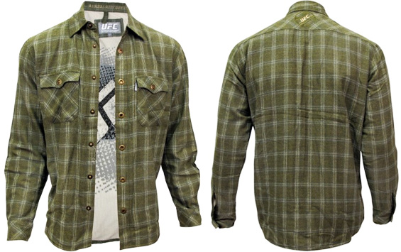 ufc-log-cutter-flannel-green
