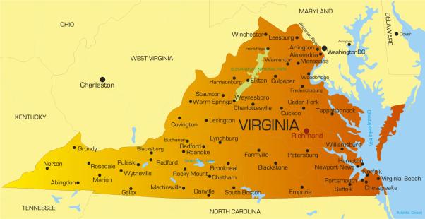 VirginiaCitiesMap